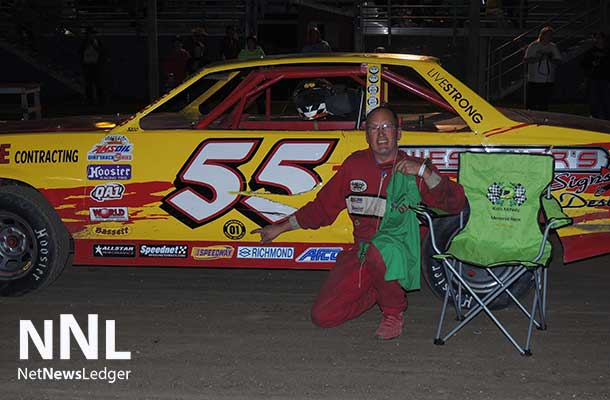 Tyler Wilson continued his domination in August by taking his fourth feature win in a row.