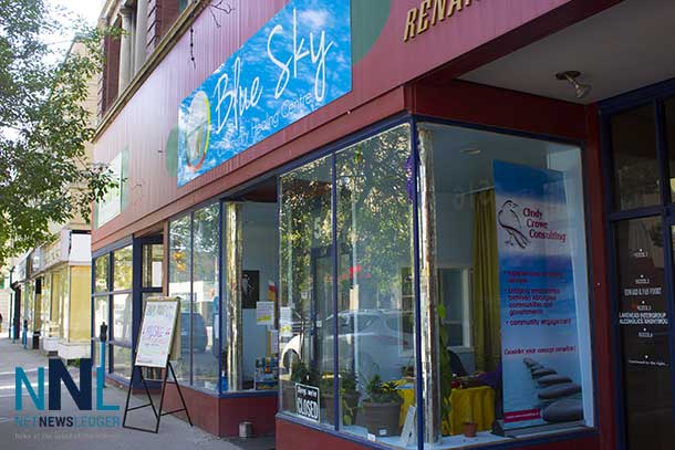There is always lots happening at Blue Sky Community Healing Centre on East Victoria Avenue