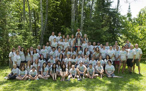 Camp Quality 2014 - A great group of campers, volunteers and supporters