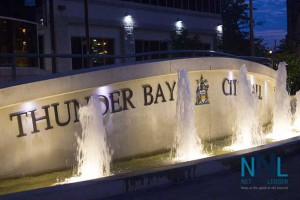Thunder Bay City Hall and the plaza are in great shape in downtown Fort William