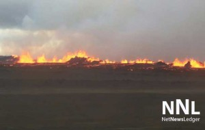 There has been, so far no major eruptions from the volcano in Iceland
