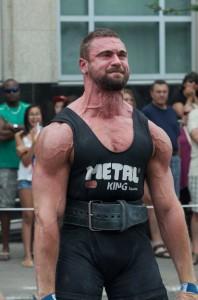 Jake DiPaulo at Motors and Muscles 2014