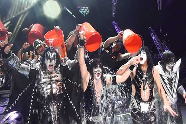 KISS takes the Ice Bucket Challenge
