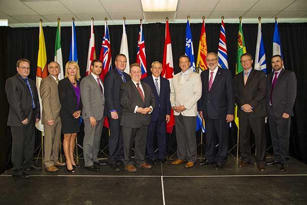 Canada's Mining Ministers in Sudbury