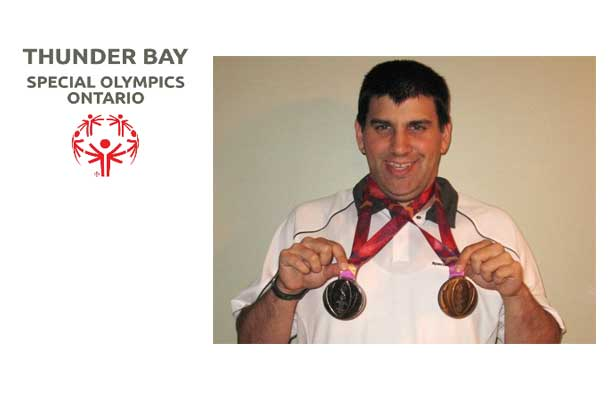 Craig Jean Receives Two Silver Medals at the Special Olympics Canada Summer Games.