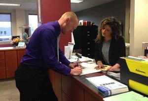 Wesley Ramage files at Thunder Bay City Hall