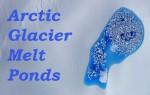 Arctic Glacier Ice Ponds Captured by NASA