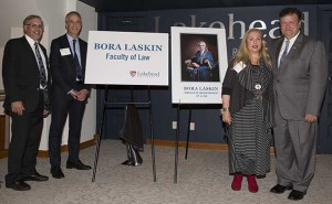 The announcement of the new Bora Laskin Faculty of Law