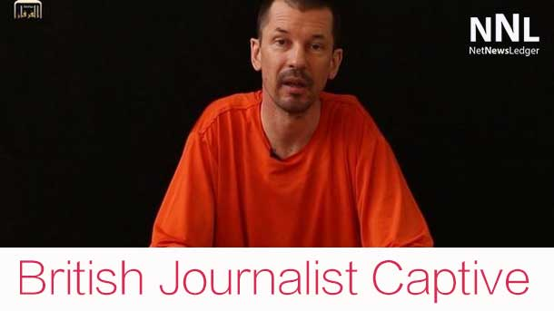 ISIS has released a video of a British Journalist held captive by the group