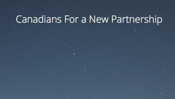 Canadians for a new partnership