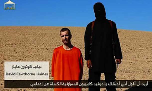 David Haines is the third westerner to be murdered by ISIS