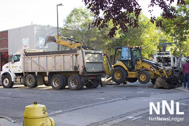 Ongoing repairs to streets across Thunder Bay are continuing.
