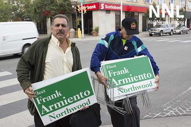 Frank Armiento is running in Northwood Ward challenging Mark Bentz
