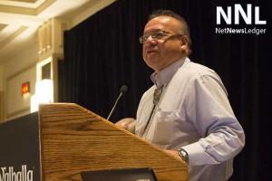 Nishnawbe-Aski Grand Chief Harvey Yesno Addresses NOMA Delegates