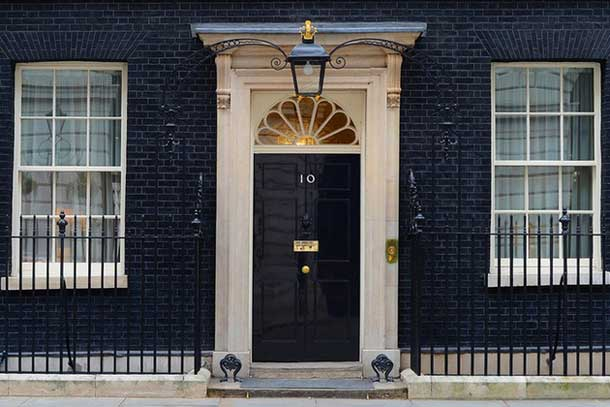 Britain's Number 10 Downing Street