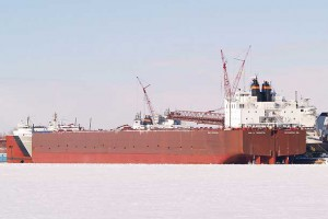 Paul R. Tregurtha is the largest ship navigating on the Great Lakes