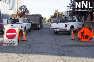 Road closed signs mean road improvements in Thunder Bay