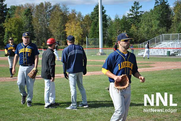 The Lakehead University Thunderwolves Baseball squad was slain by the Dragons in a one-sided 26-0 drubbing.