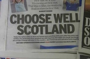 Scotland is choosing its future