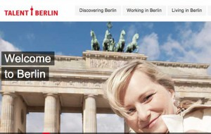 Talent Berlin - Innovation online to attract the best and brightest to the city