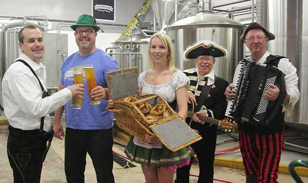 Oktoberfest tickets are almost sold out... move fast to get yours.