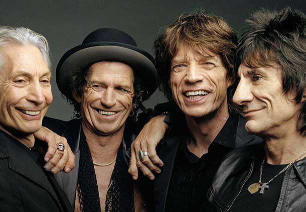 The Rolling Stones kick off their 14 ON FIRE tour of Australia and New Zealand on 25th October