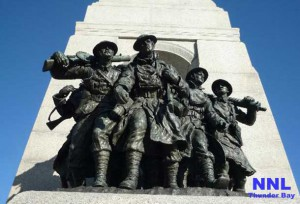 National War Monument in Ottawa Ontario