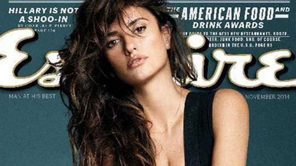 Penelope Cruz Tops Esquire Listing for Sexiest Woman