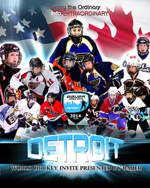 Thunder Bay Bantam Queens are in action in Detroit
