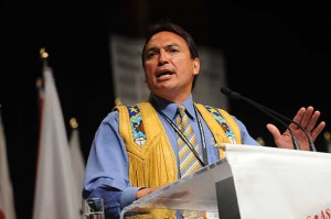Perry Bellegarde, National Chief of the Assembly of First Nations (AFN)