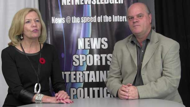 Christine Elliott in the NNL Newsroom