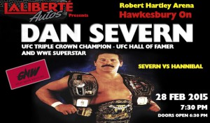 Dan Severn is coming to Great North Wrestling