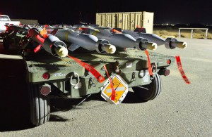 Loaded and ready for RCAF CF-18 Fighter Jets