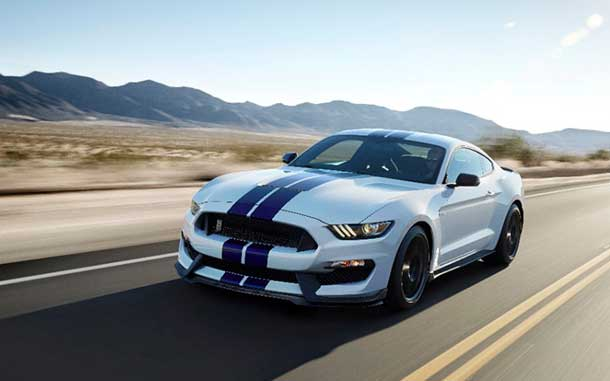 "The iconic Ford Mustang heading into its 50th year - ""Have you driven a Ford lately?"""