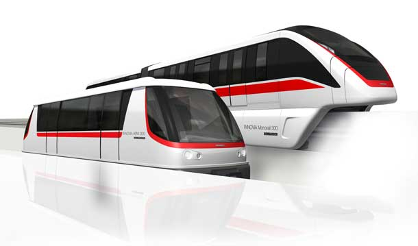 Bombardier is the only company in the world that offers rail and aviation transportation options for its customers