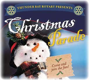 The Rotary Christmas Parade has become a major seasonal event in Thunder Bay.