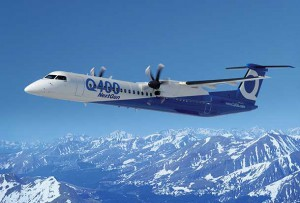 Bombardier Q400 Next Generation - Imaged supplied by Bombardier