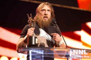 Daniel Bryan, 2013 Slammy Award Winner for Superstar of the Year - Photo courtesy WWE
