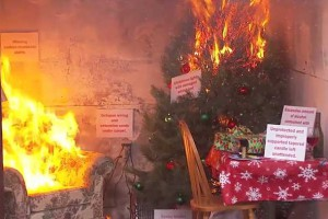 In minutes, a house fire can turn your holiday joy into a tragedy.