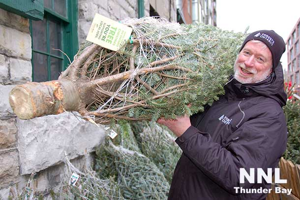 An Ontario Grown Christmas tree shopping locally helps the economy