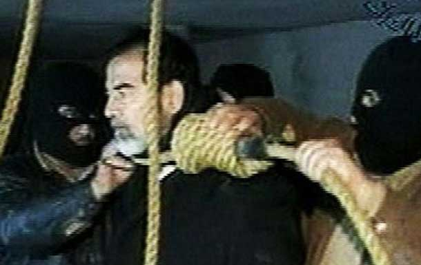 Saddam Hussein was executed on this day in 2006