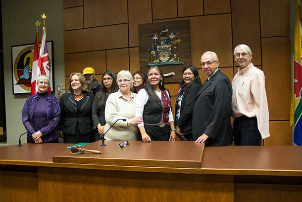 New Directions Speakers School Graduates at City Hall in Thunder Bay