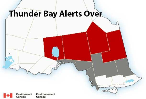 December 15 2014 Weather Alerts for Thunder Bay over