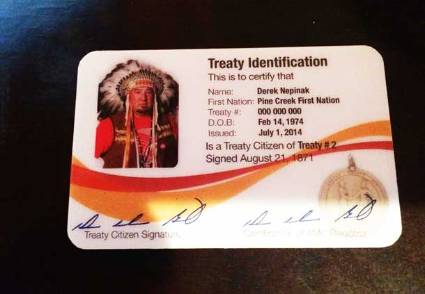 Manitoba Grand Chief Derek Nipinak expressed strong words on important issues.