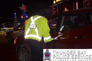Two drivers were arrested for driving under the influence and one was arrested for possession of a narcotic for the purpose of trafficking. (some people were being naughty and not nice) There were five drivers who got reminded about seat belts, one novice driver learned about the hours of restriction when it comes night driving and one suspended driver will be asking Santa to try to get his car out of impound.