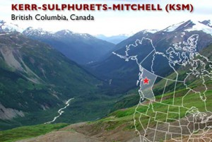 British Columbia has approved the KSM Gold and Copper mine