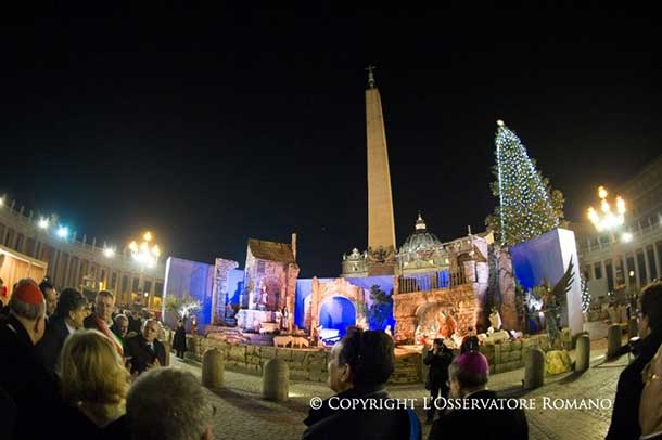 The Vatican is set for Christmas