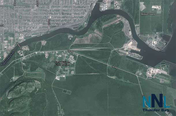 Satellite View Fort William First Nation