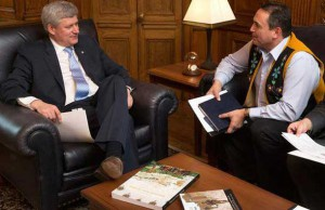 Prime Minister Harper met with Assembly of First Nations Chief Bellegarde this week.