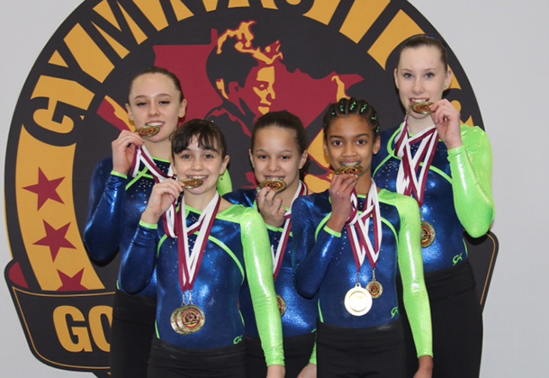 Ultimate Gymnastics with a harvest of medals from hard work
